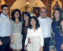 Susan & Elie Hage's family.
