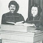Fr. George Esber (2012 recipient), Khouriyee Oudette Shalhoub.