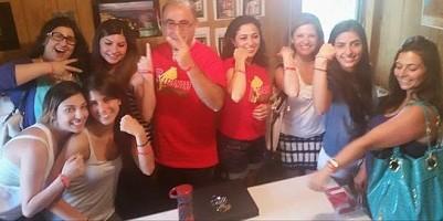 Nicole Khoury, Jess Chebl, (), Nancy Tawil, Elie Hage, Susan Hage, (), Maria Saikali, Caroline Zakhour.