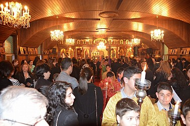 As one can infer from the above image, it can become rather crowded in the original Church.