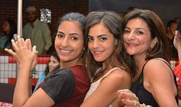Maria Haddad, Christine Israel, Vicky Mina.