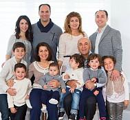 Nadia & Besim Halef's family.