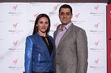 Rosine & John Lawen at the Alliance Française gala.