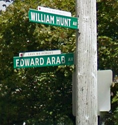 Edward Arab Avenue & William Hunt Avenue in Halifax, Nova Scotia, Canada.