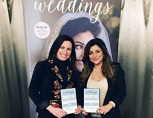 Claudia Habib, Vicky Mina, and Christina (Israel) Diab were all highlighted in the Coast's 'Best of Weddings' issue.