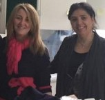 Caroline Nasrallah & Mona Awad.