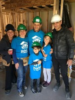 Peter & Louis Lawen and team supporting Habitat for Humanity.
