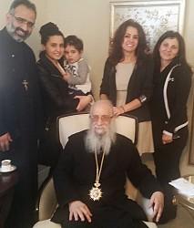 Fr. Saikali, Rouba Ayoub, Moni Haddad, Mt. Ephraim, Rouba's Mother, Khouriyee Saikali.