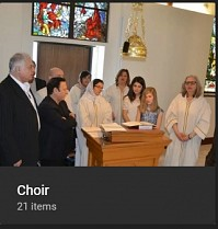 Choir photo album