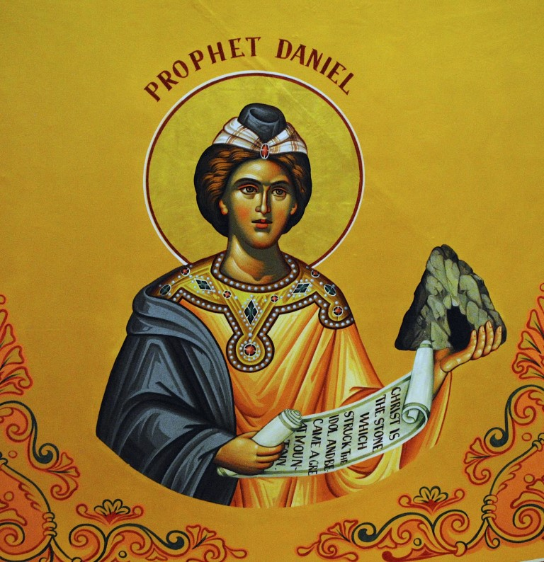 Image result for The prophet Daniel icon